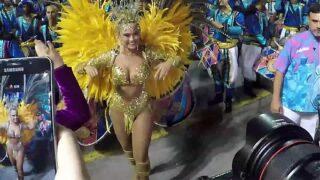 Bastidores do Carnaval 2019 – Rosas de Ouro – Ellen Rocche